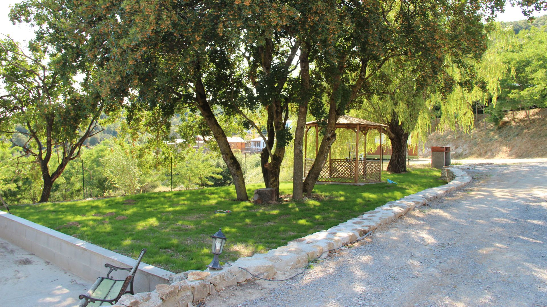 Camping nature Ardeche